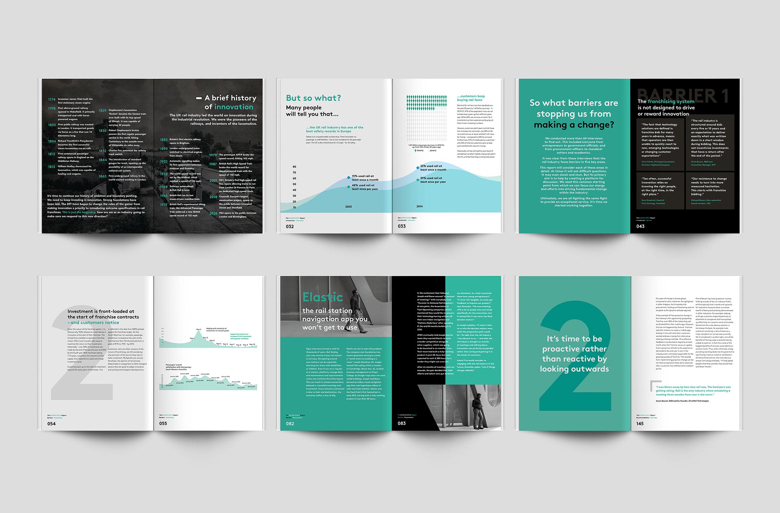 Barriers Brochure Design