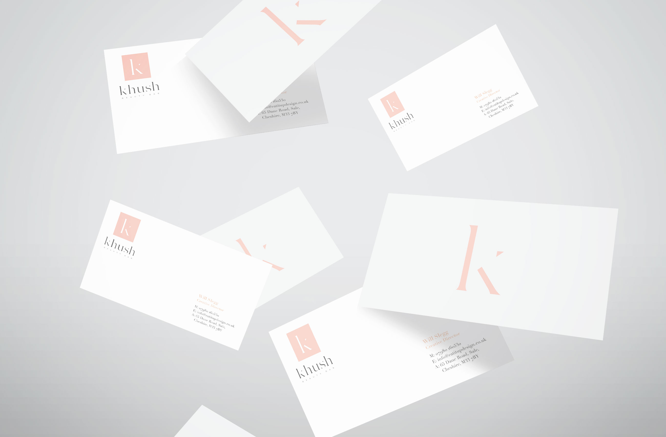 Khush Business Card Design